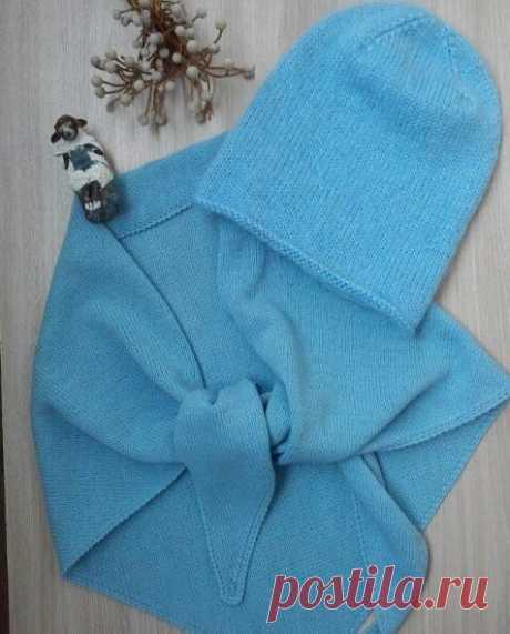 Очень стильный аксессуар! Вязаная косынка, вязаный платок. Фотоидеи   Записки вязальщицы   Яндекс Дзен