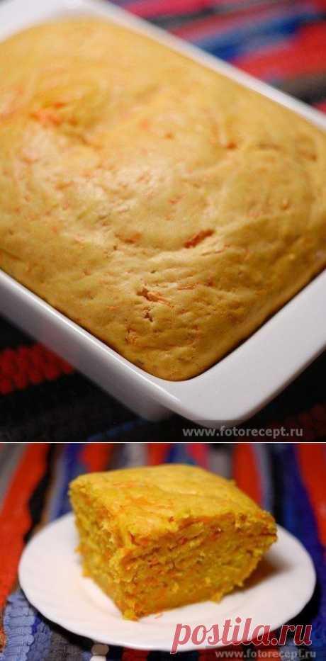 Как приготовить пирог с тыквой - рецепт, ингридиенты и фотографии