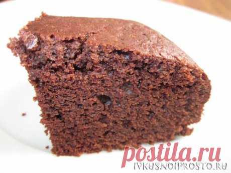 Пирог с какао - пошаговый рецепт с фото   И вкусно и просто