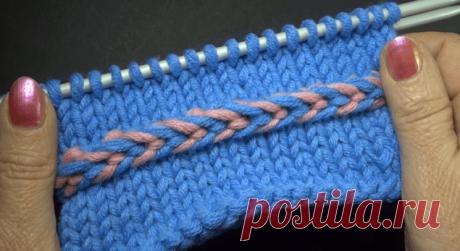 Мастер класс по вязанию спицами объемной косички – обручка (Вязание спицами) – Журнал Вдохновение Рукодельницы