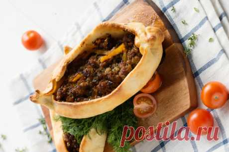 Турецкая пицца Пидэ