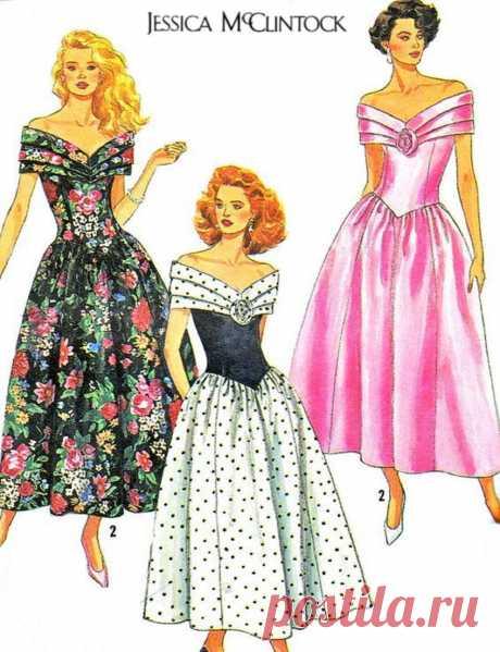 Нарядные летние платья
