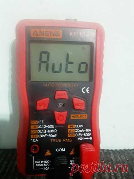 Цифровой мультиметр, умный мини-тестер M118A с бесконтактным индикатором напряжения  Особенности: 1. Мультиметр (цифровой мультиметр) M118A является основным инструментом в мастерской. 2. Это самый популярный цифровой мультиметр в Европе и США. 3. Он может измерять переменный ток и напряжение переменного тока, сопротивление, диодный тест и непрерывность. 4. Этот тестер может точно измерять ток высокого напряжения, например, высокое напряжение, электричество, батареи, розетки переменного тока и…