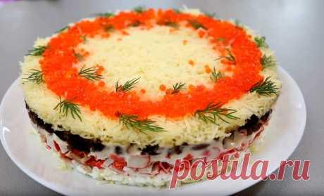 Такой божественный новогодний салат   🥗❤️Едим Дома   Яндекс Дзен