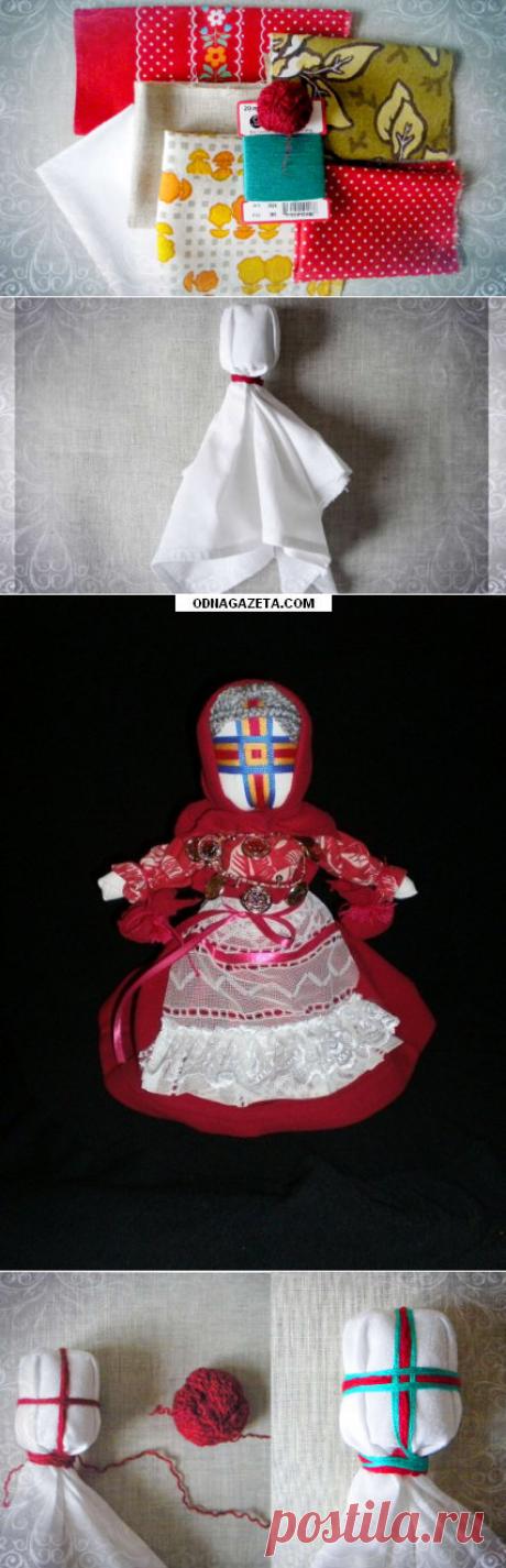 Магическая кукла -мотанка своими руками — Рукоделие