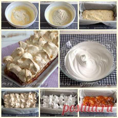 Пирог с безе «Облачко»