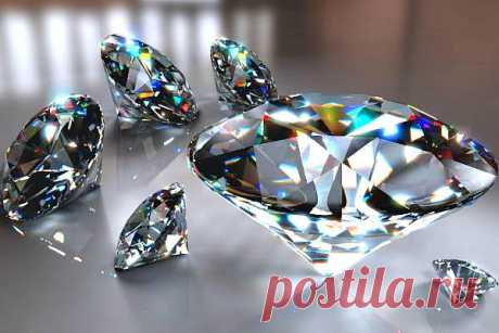 Искусственный алмаз: как называются синтетические бриллианты, получение в промышленности, отличие от настоящего и из чего их делают, свойства, фото