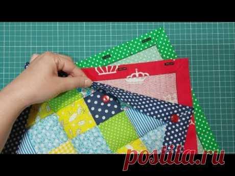 Пэчворк. 3 идеи пододеяльников для лоскутного одеяла.