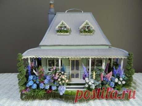 Dabbie Gay и ее домики мечты в миниатюре - Ярмарка Мастеров - ручная работа, handmade