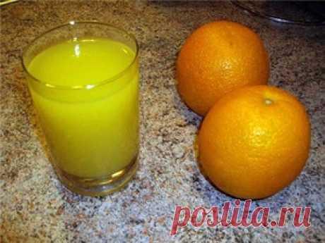 Апельсиновый сок - кулинарный рецепт