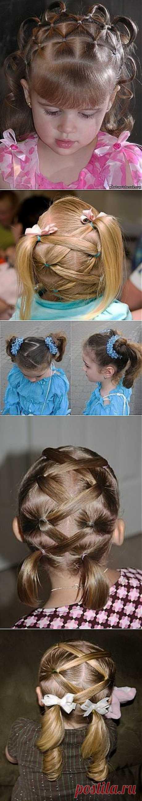 Las IDEAS de los peinados para las muchachas