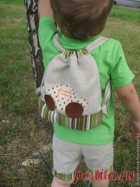 Шьём детский рюкзак