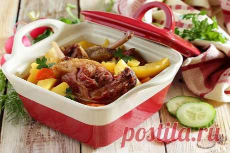 Индоутка с картошкой рецепт с фото - 1000.menu
