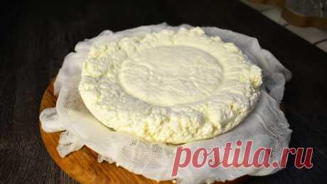Давний рецепт сыра, о котором я совсем забыла и решила приготовить снова (этот сыр получается у всех) | Готовим с Екатериной Койдой | Яндекс Дзен