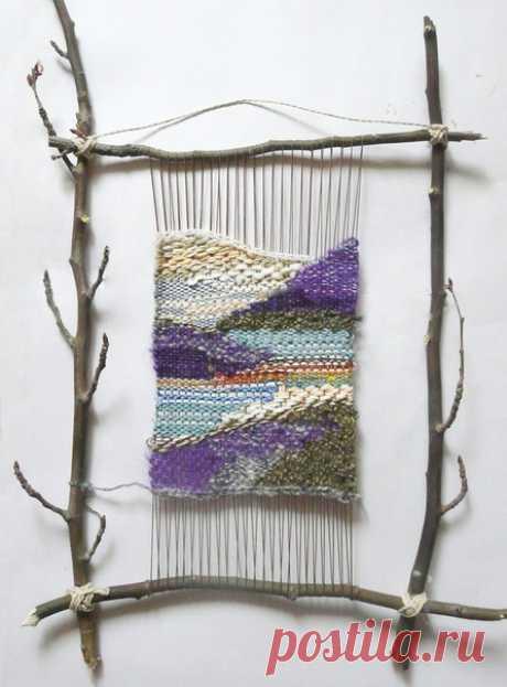 Los tapices pequeños de la labor a mano