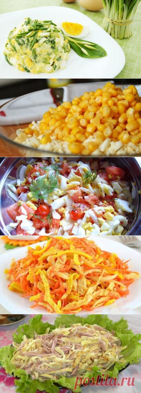 10 яичных салатов на скорую руку