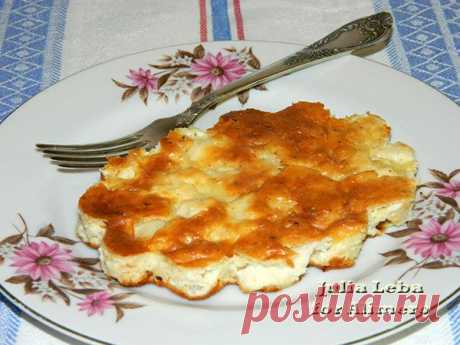 Диетический пирог с курицей - вы пробовали сочетать куриное филе с творогом?.