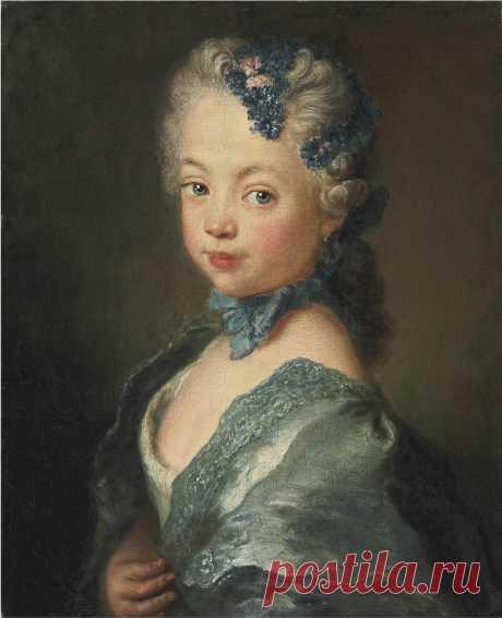 Antoine Pesne (1683–1757) - Портрет внучки и внука художника