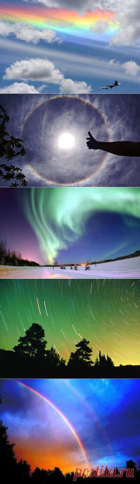 14 световых феноменов в фотографиях | УДИВИТЕЛЬНОЕ