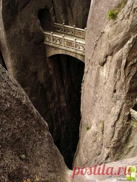 «мост бессмертных Хуаншань» — карточка пользователя Ольга К. в Яндекс.Коллекциях