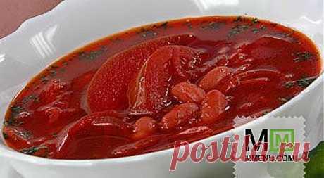 Борщ черниговский (2) - кулинарный рецепт. Миллион Меню