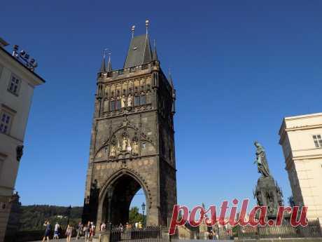 Восточная стражница Карлова моста - Староместская башня