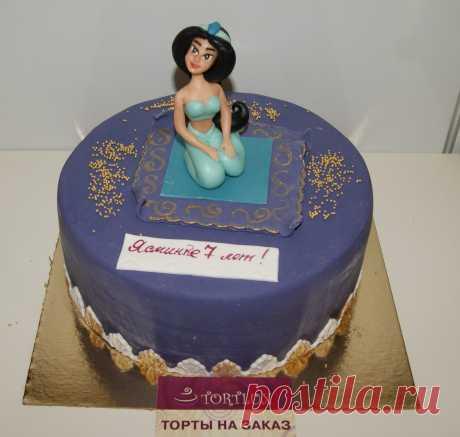 """Детский торт """"Жасмин"""".Вес 3 кг."""