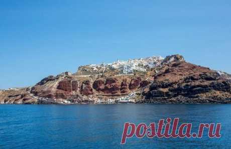 Белоснежный остров Санторини, Греция