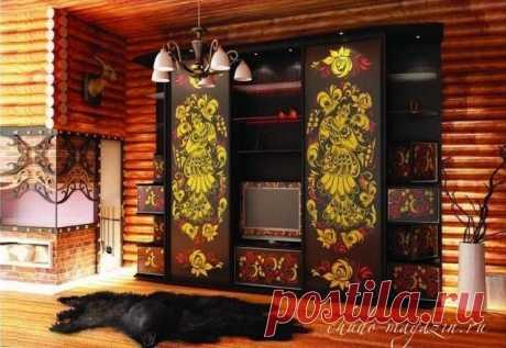 Шкаф стенка с фотопечатью на заказ в Москве; фото, дизайн.