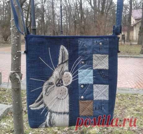 Девушка из Львова делает сумки, способные покорить сердца всех кошатников | MIAZAR | Яндекс Дзен