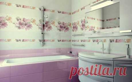 Плитка для ванной комнаты: лучшие новые эстетичные идеи и форматы (110 фото)