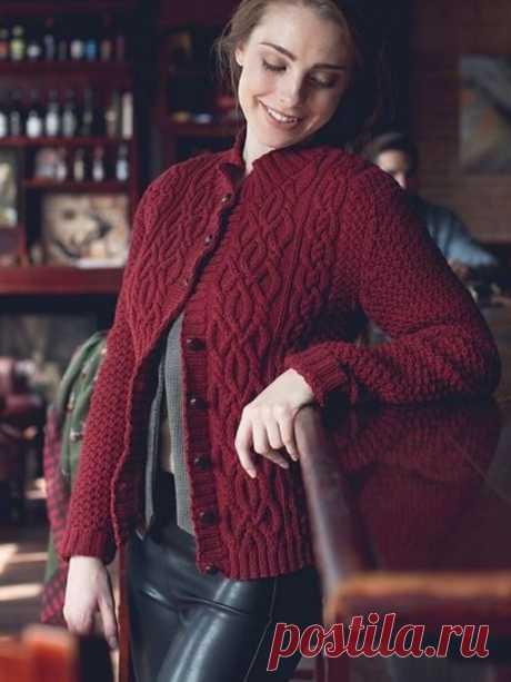 6 вязаных жакетов для стильных и красивых.... | Asha. Вязание и дизайн.🌶 | Яндекс Дзен