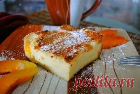 Как приготовить французская манная запеканка с абрикосами.  - рецепт, ингредиенты и фотографии