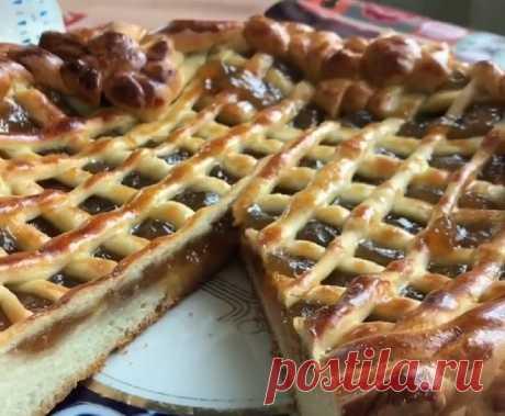Пирог с яблочным повидлом: вкусно, быстро, красиво | Рецепты выпечки Dr. Oetker | Яндекс Дзен