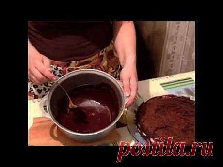 La torta de Praga (receta de abuela) muy sabroso y jugoso - YouTube