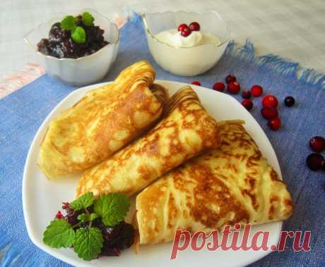 Блины на опаре - пошаговый рецепт с фото - как приготовить, ингредиенты, состав, время приготовления - Леди Mail.Ru