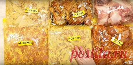 Заготавливаю много курицы - 5 рецептов покоряют вкусом и экономят время! | Алена Митрофанова - рецепты. | Яндекс Дзен