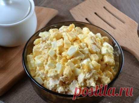 Сытный белковый салат — Sloosh – кулинарные рецепты