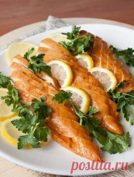 Медово-лимонные куриные грудки — Sloosh – кулинарные рецепты