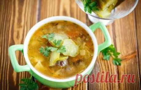 Las recetas del rassólnik con las setas: los secretos de la elección de los ingredientes y