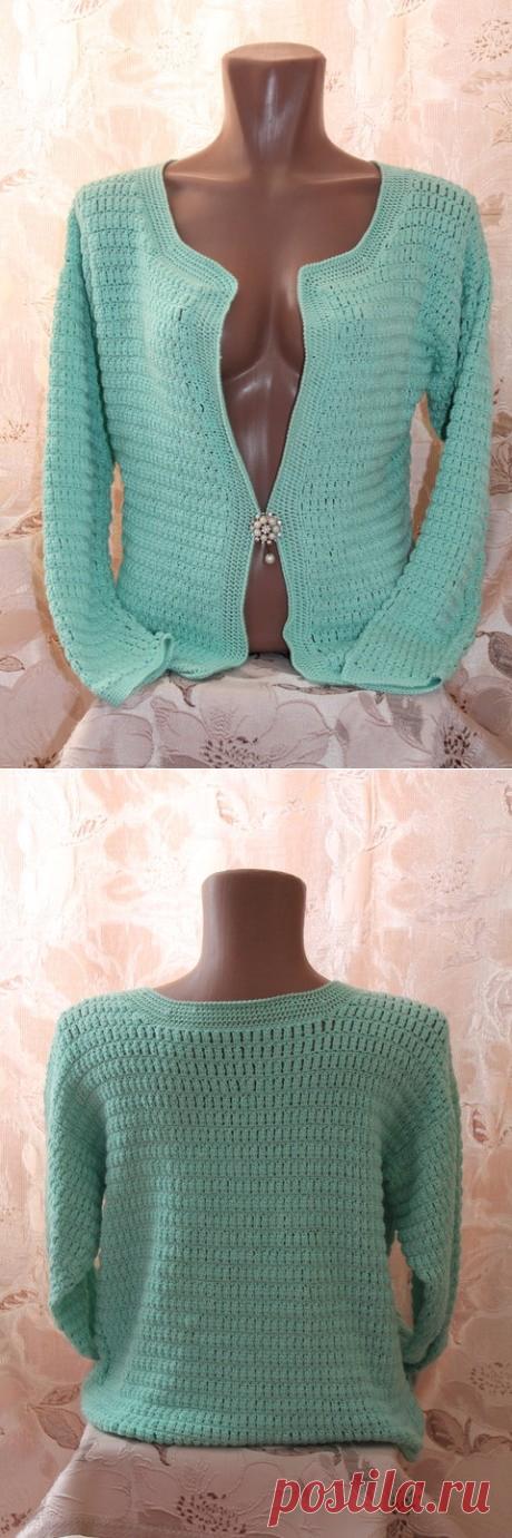 Женская кофточка из категории Мои работы – Вязаные идеи, идеи для вязания