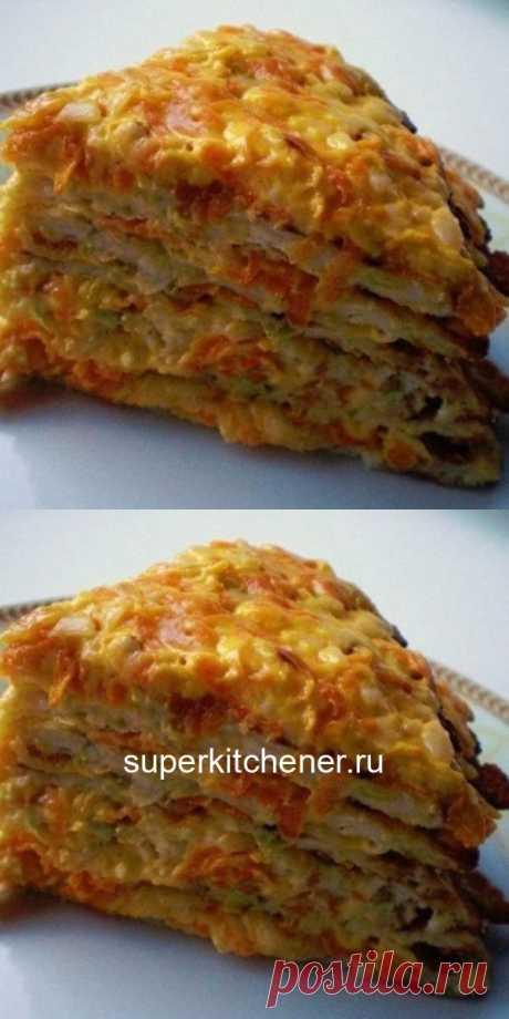 Низкокалорийный кабачковый торт — мой коронный рецепт! На 100 грамм всего 68.55 ккал!