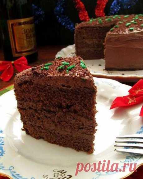 Пряный шоколадный торт | Офигенная