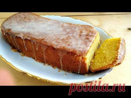 Лимонный кекс Быстро и вкусно! Подробный рецепт