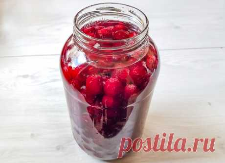 Рецепт вишневой наливки на водке на Вкусном Блоге