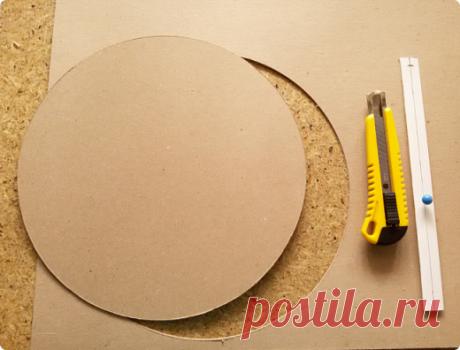 Режем круги из картона | Страна Мастеров