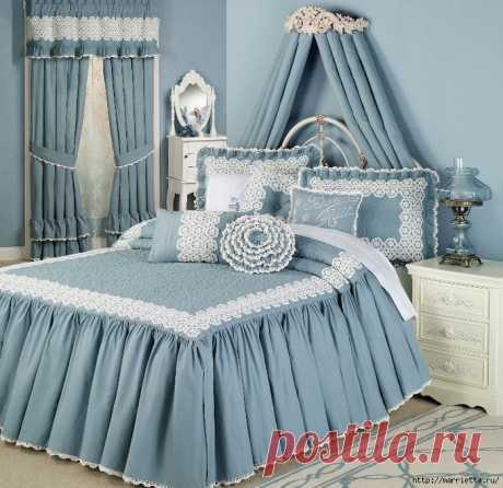Текстиль в спальне. Шикарные идеи   Подружки