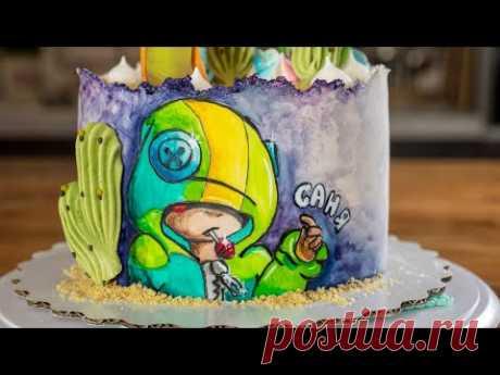 """""""Не умею рисовать"""". Как оформить торт. Я - ТОРТодел!"""