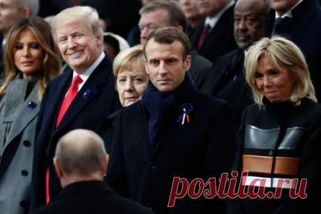 Разговор Трампа с Путиным в Елисейском дворце