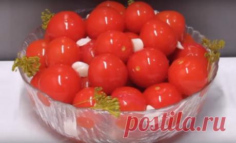 Как без стерилизации приготовить помидоры «черри»